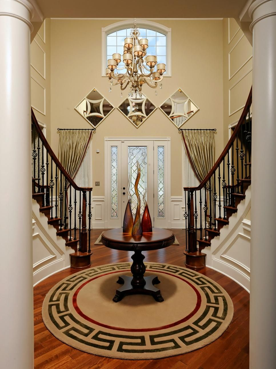 2 Story Foyer Decorating Ideas a gallery of beautiful iris images | staircases