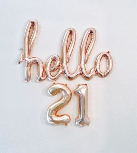 35  ideas for birthday 21st girl wishes #21stbirthdaydecorations