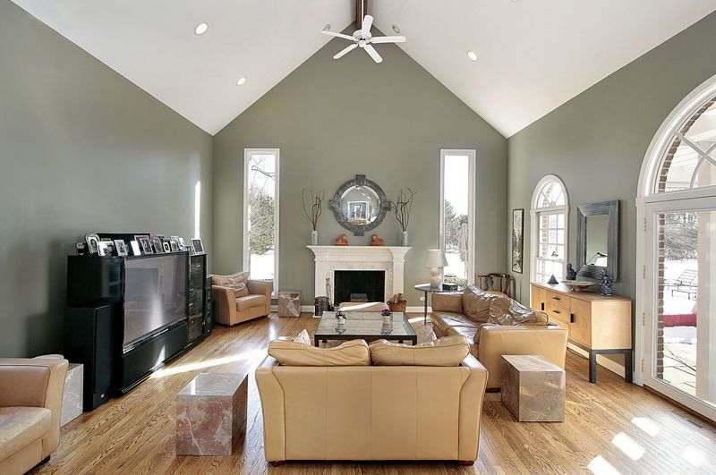 paint colors for living room vaulted ceilings google