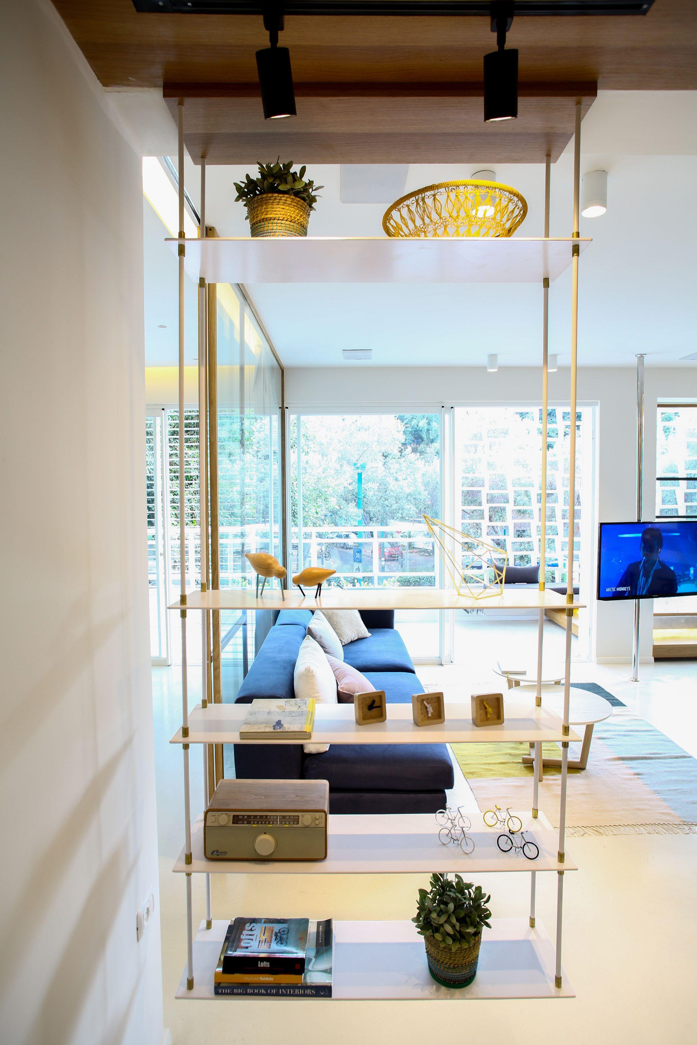 Weisel apartment in tel aviv by dori interior design separadores de ambiente separador ambientes