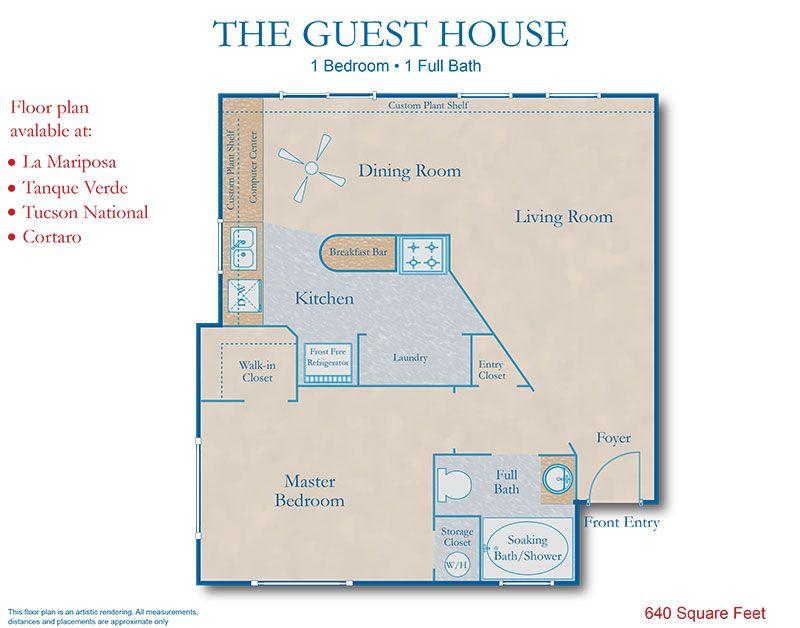 Guest House Floor Plans House Design Plans