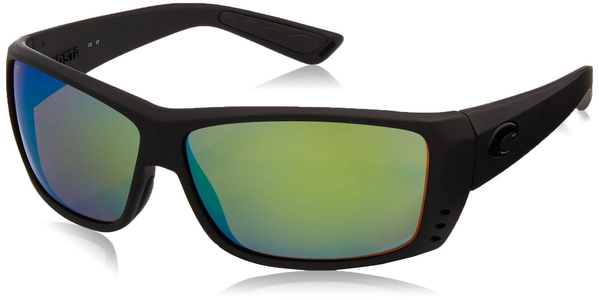 47d671c16a3 Costa Del Mar Cat Cay Sunglasses Blackout Green Mirror 580Plastic   Be sure  to check