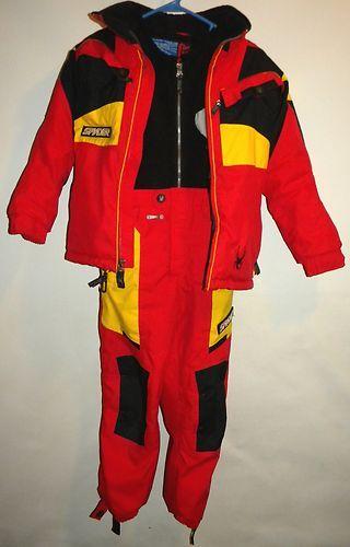 cd7d984a10 Boys Spyder Tommy Moe 2 Piece Ski Suit