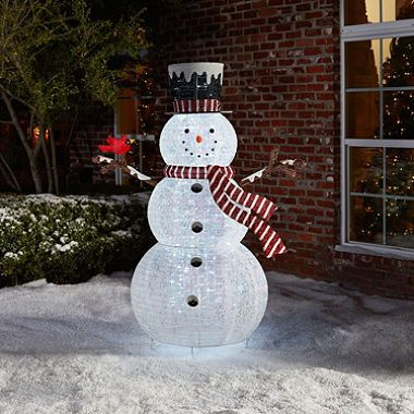 Member S Mark 72 Quot Pop Up Snowman I Luv Christmas