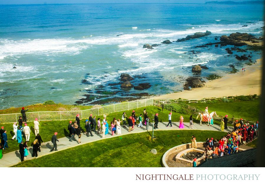 Indian Wedding Ritz Carlton Half Moon Bay By Nightingale Photography Destination