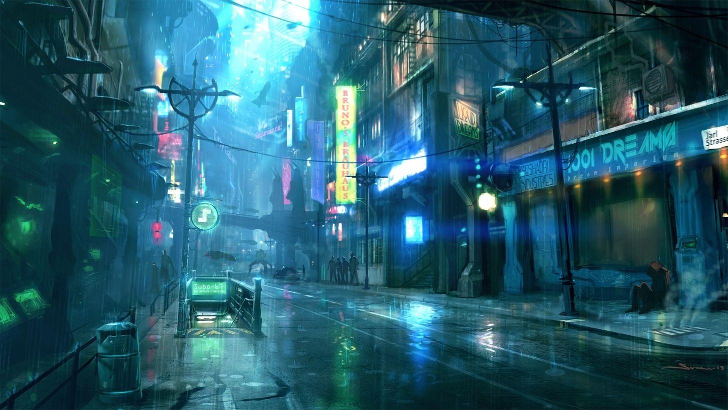 Cyberpunk Wallpapers 1920x1080 Post Cyberpunk City Futuristic City Sci Fi City