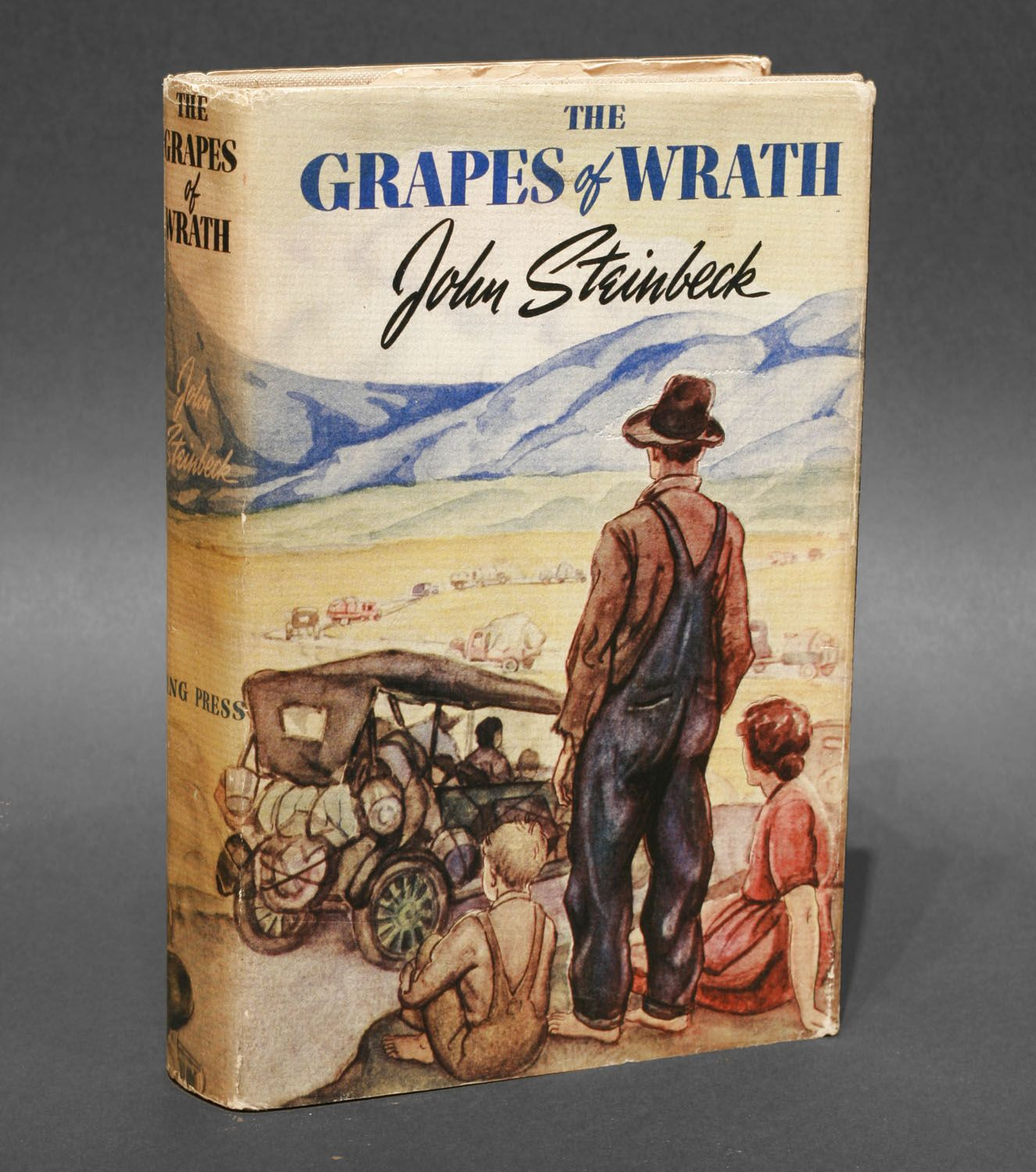 I need to write an essay on The Grapes of Wrath by John Steinbeck, please help!?