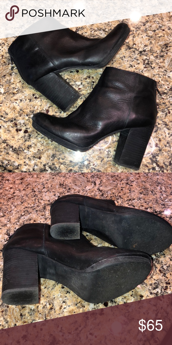 277be168678 Madewell Shoes   Madewell Leather Caleb Boots   Color: Black   Size ...