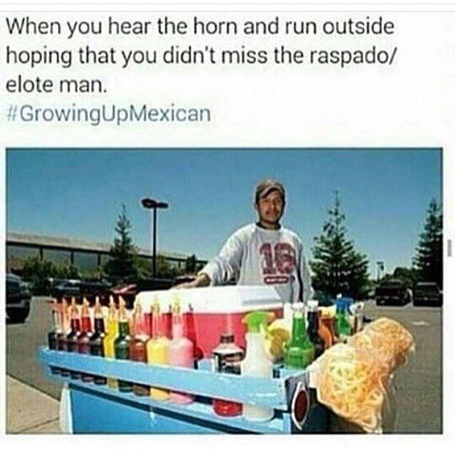 Childhood Memories Lol Mexican Elote Man Elote