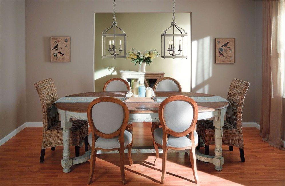 Lovely Kichler Larkin 42566NI Diningroom