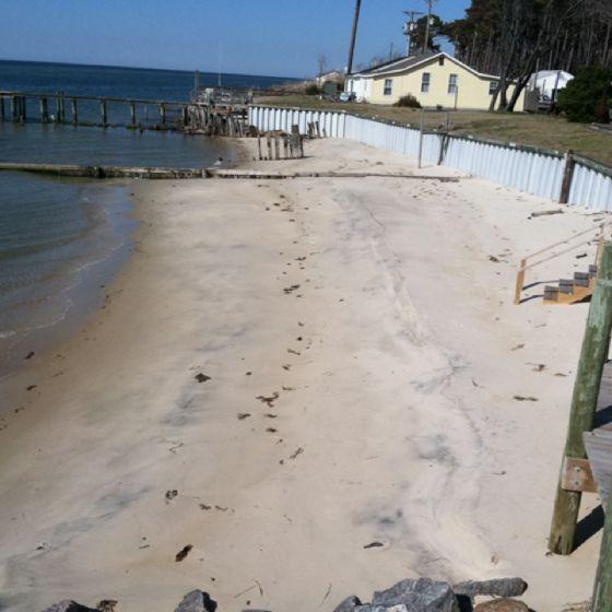 Silver Beach Esva Chesapeake Bay Island Delmarva Peninsula Virginia Islands
