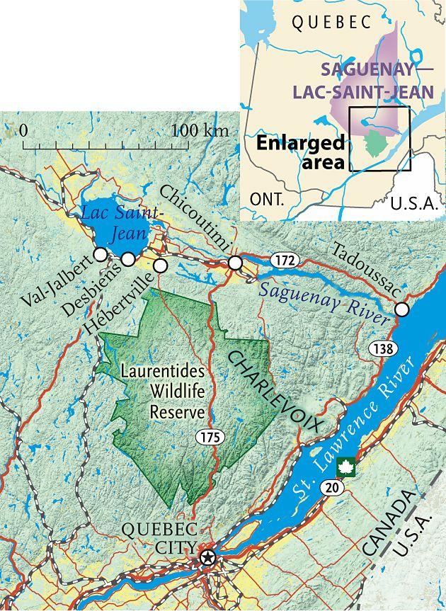 Carte Canada Chicoutimi.Canada Carte Saguenay Lac St Jean Quebec Quebec Quebec Quebec