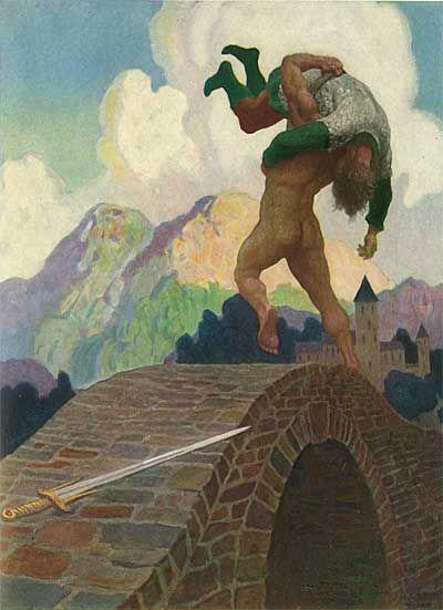 N C Wyeth Legends of Charlemagne