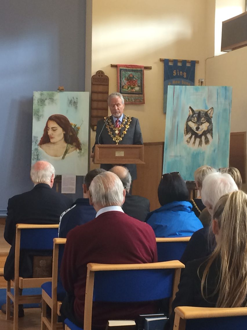 Opening speech from the Lord Mayor of Chesterfield