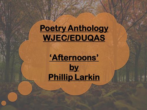 afternoons philip larkin