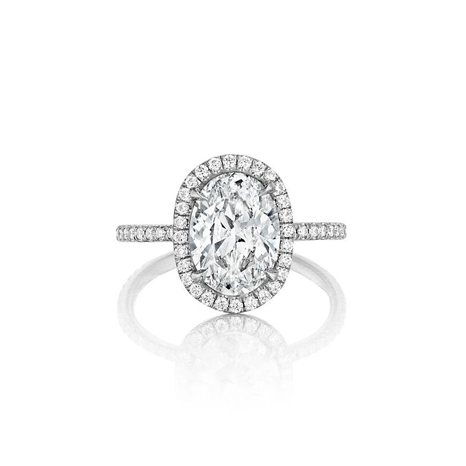 17 Best images about Rings on Pinterest | Halo, White gold and Cushions