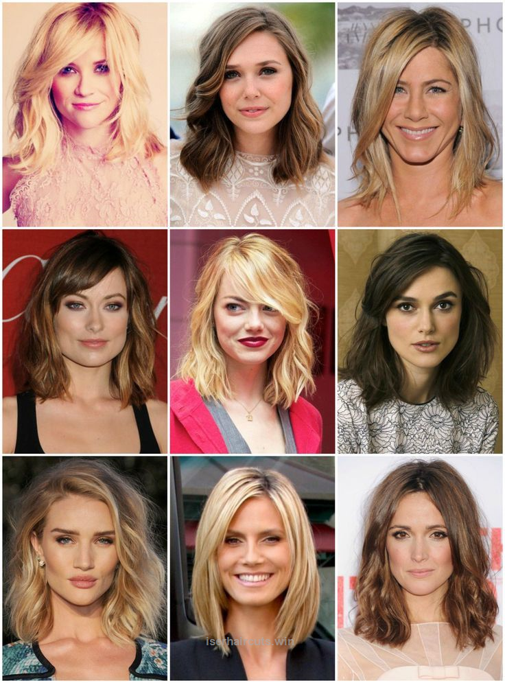 Lovely Note To Self The Clavicut A Long Bob That Ends At The Clavicle Is A Really Great Cu Square Face Hairstyles Medium Hair Styles Haircut For Square Face