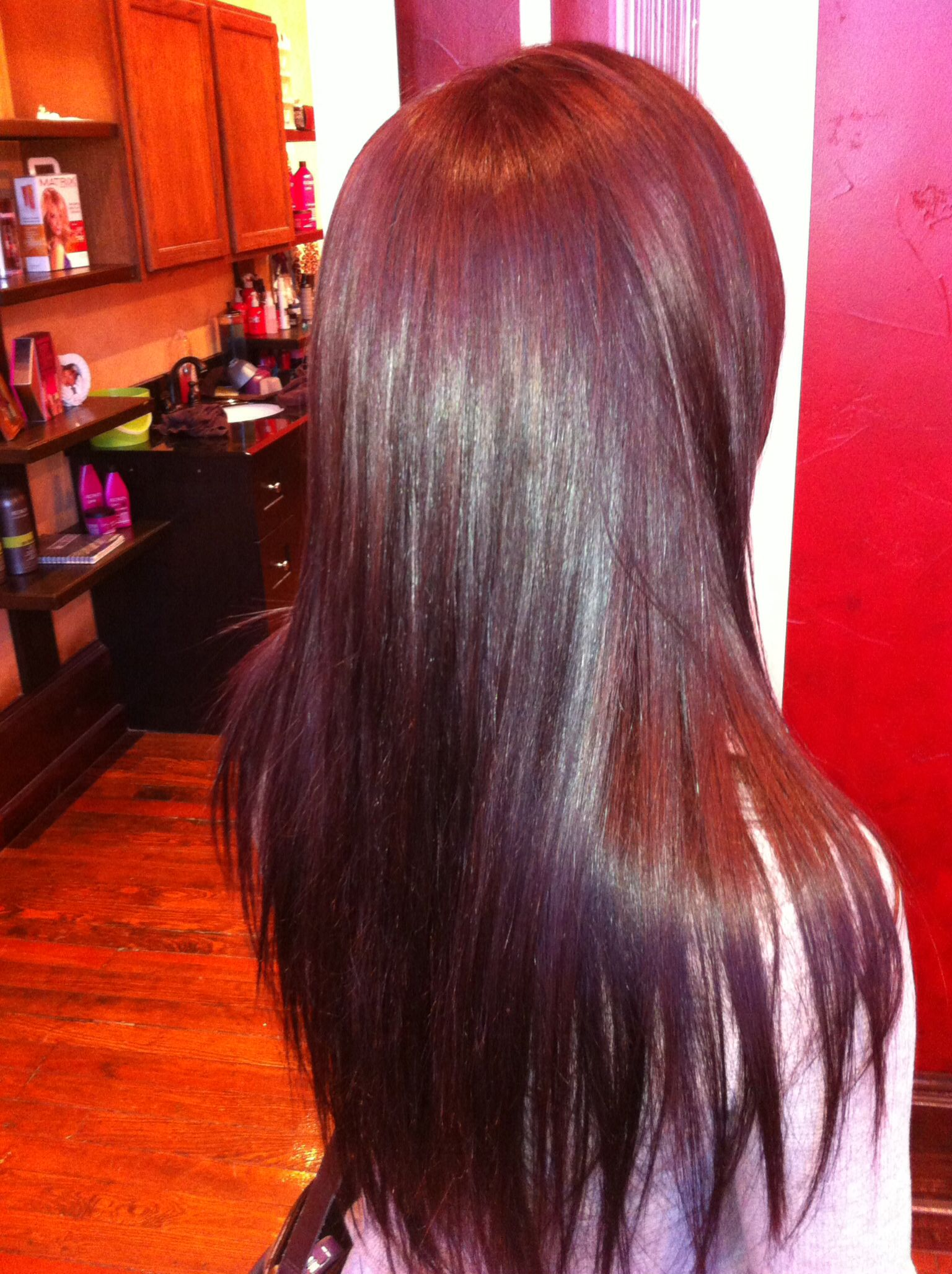 Cherry Cola Hair Color Hair By Me Pinterest Best