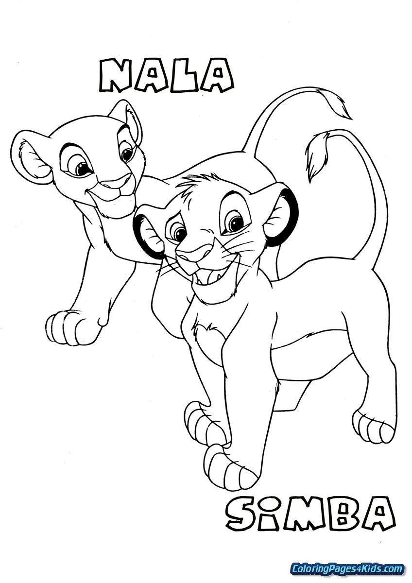 Lion King Coloring Pages Beautiful Coloring Book World Lion King Coloring Pages Nala The Most King Coloring Book Lion King Pictures Lion Coloring Pages