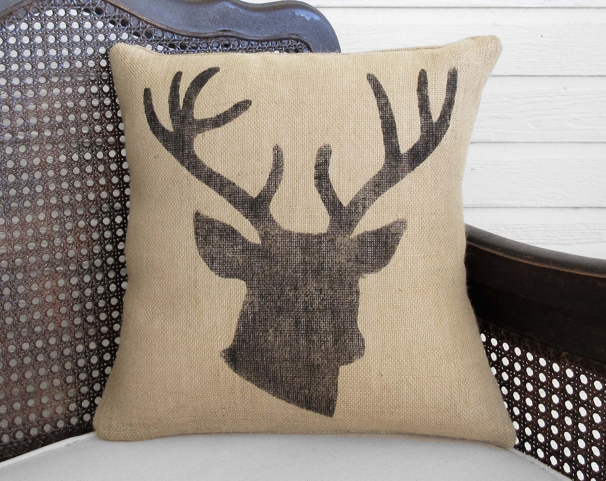 hooked ncu michaelian throw home c pillows pillow billy petit needlepoint decorative deer goat point