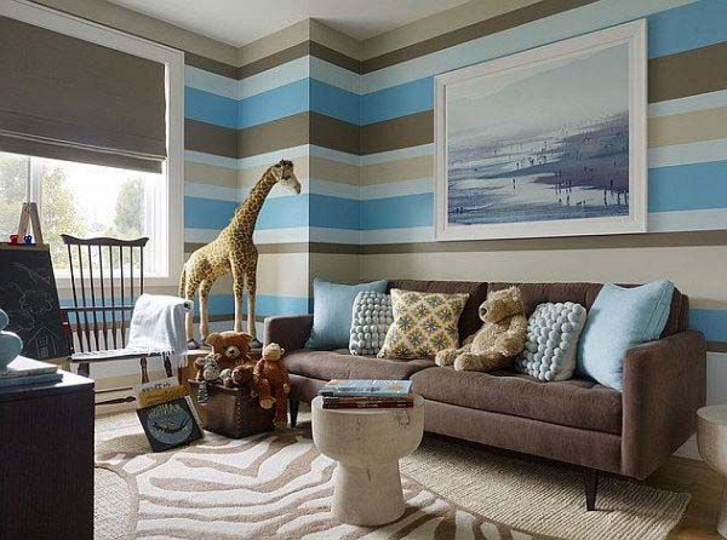 Blau Und Braun Wohnzimmer   Teal wohnzimmer, Wohnzimmer ...
