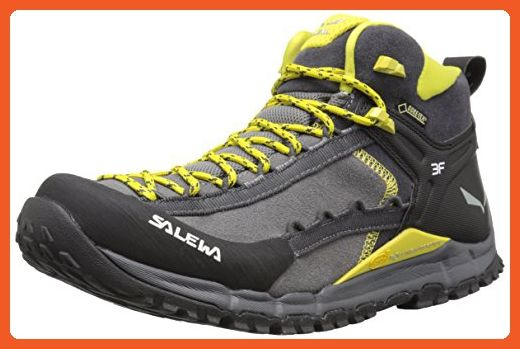 dcec649f61784 Salewa Hike Roller Mid GTX Speed Ascent Shoe, Pewter/Kamille, 10.5 M ...