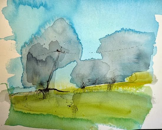 10 Beautiful Watercolor Paintings of Landscapes, People ...