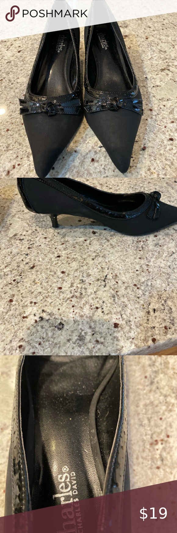 Women S Black Leather 1 3 4 Inch Leather D Orsay Kitten Heel Bravely By Sole Society Heels Shoes Sole Society Heels