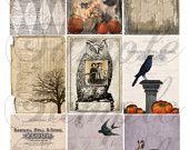 Autumn 8 Collage Sheet