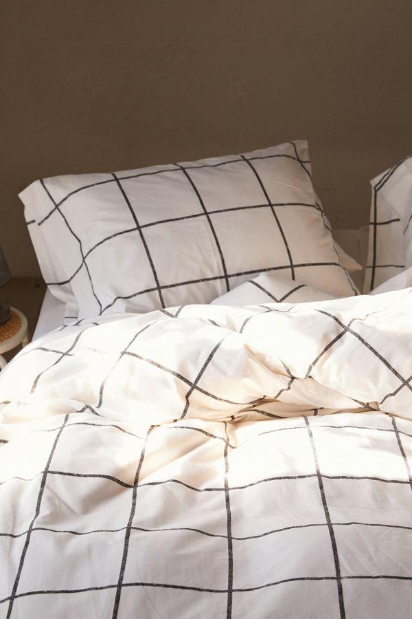 Distressed Check Duvet Set Duvet Sets Bed Spreads Bedroom Sets