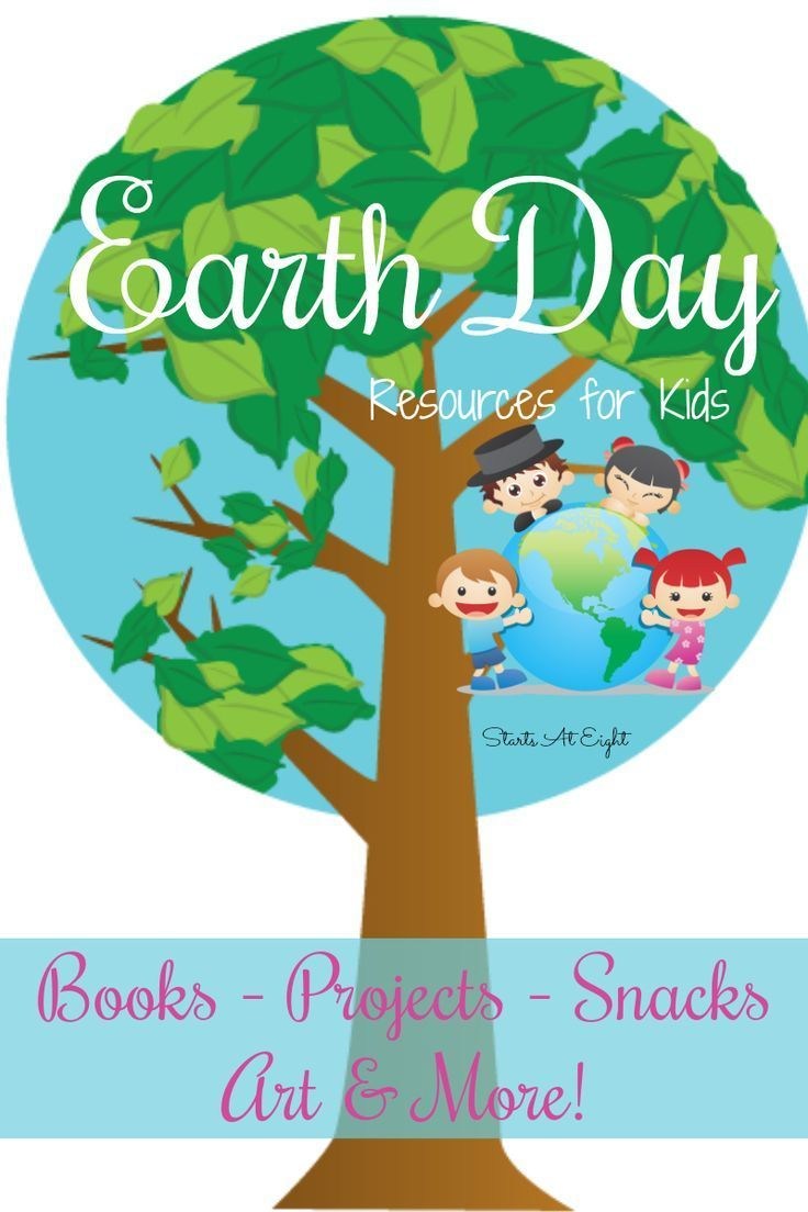 Earth Day Resources for Kids from Starts At Eight. This mega list of ...