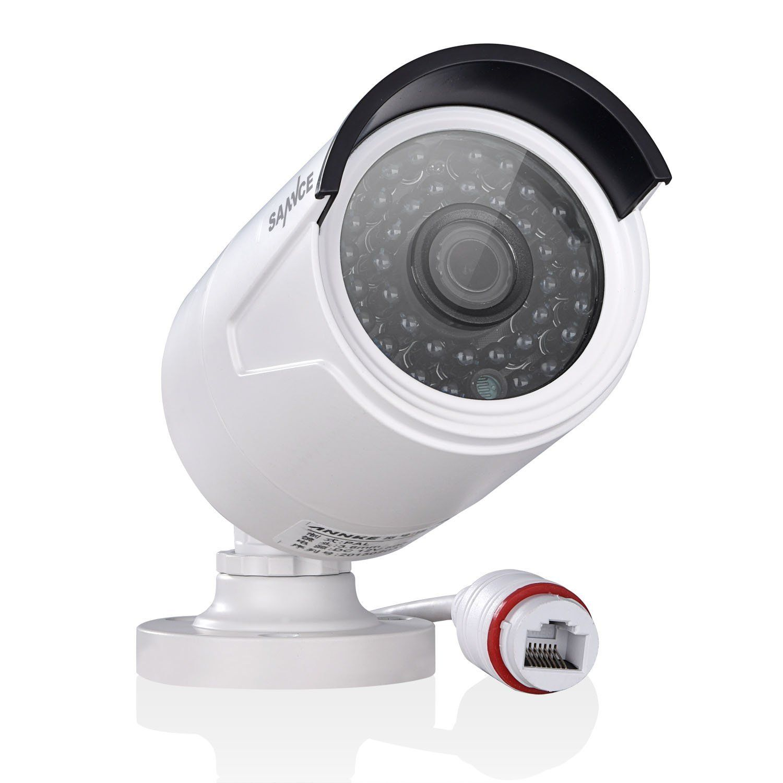 Amazon Sannce センス 130万画素poe防犯カメラセット屋外4ch高画質