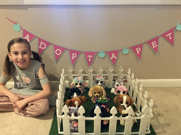 Adopt A Pet (Beanie Boo Cats & Dogs) Birthday Party #petadoption