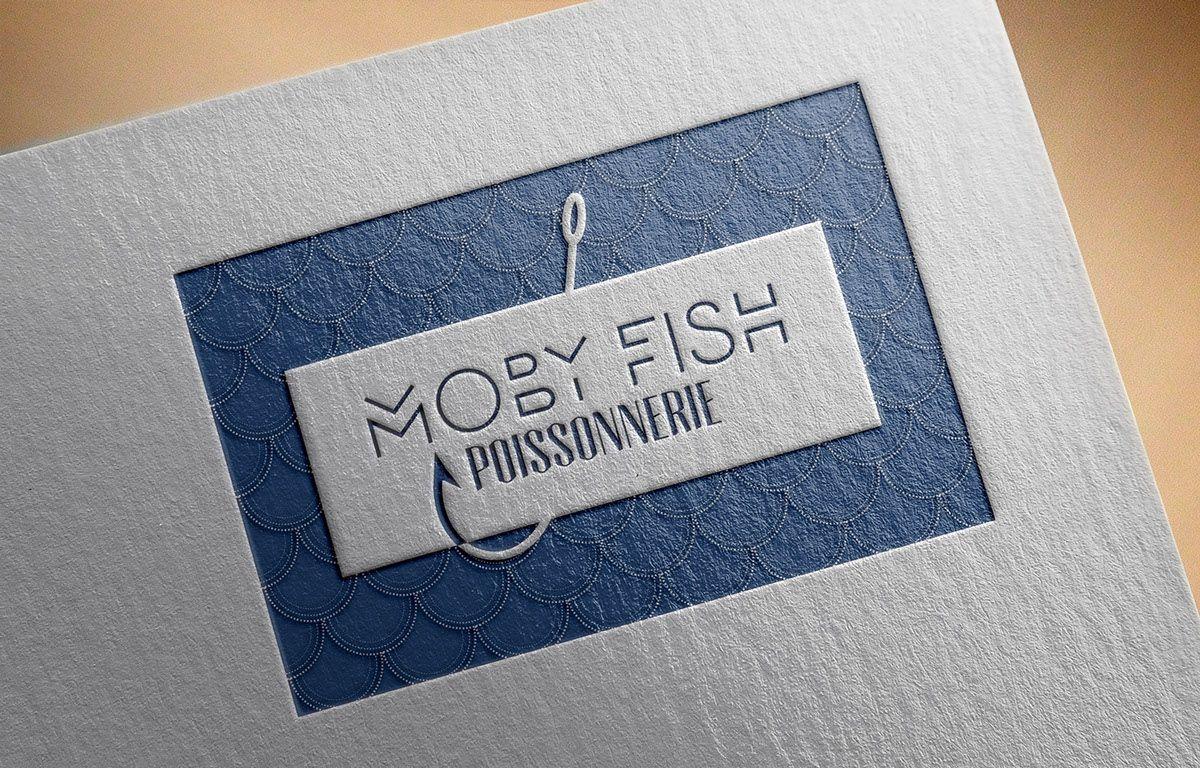 Logo Moby Fish On Behance C 2015 Marielle Marenati Ecailles De