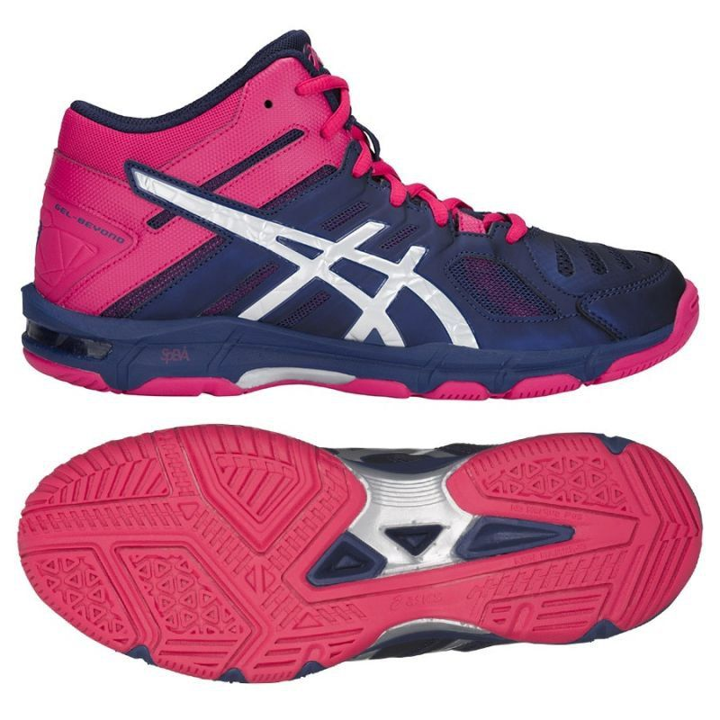 Buty Do Siatkowki Asics Gel Beyond 5 Mt W B650n 400 Granatowe Granatowe Volleyball Shoes Asics Asics Gel