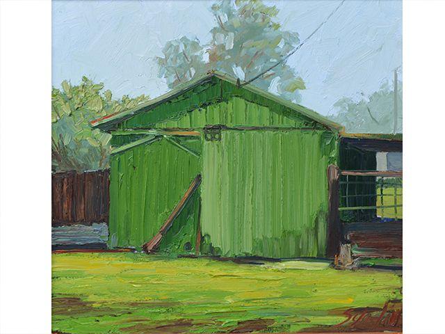 Hilo Barn by Kelly Sueda