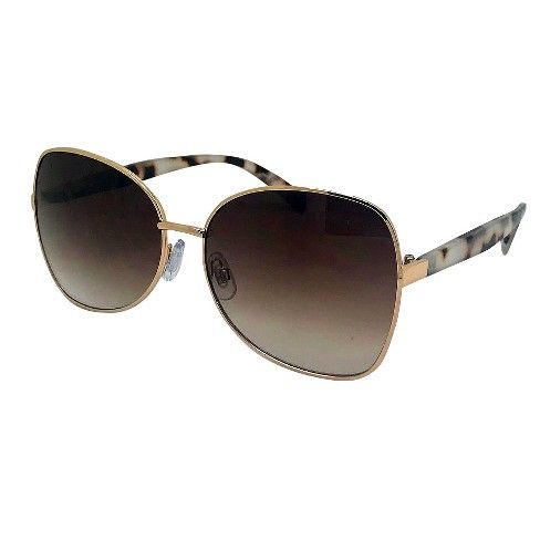 98f2490996f Women s Square Sunglasses - A New Day™ Gold   Target