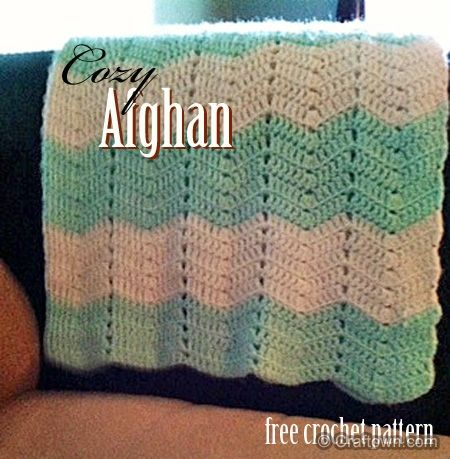 Free Crochet Pattern - Cozy Afghan HUNDREDS of free patterns for ...
