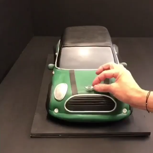 Mini Cake... -   13 cake Mini cooper ideas