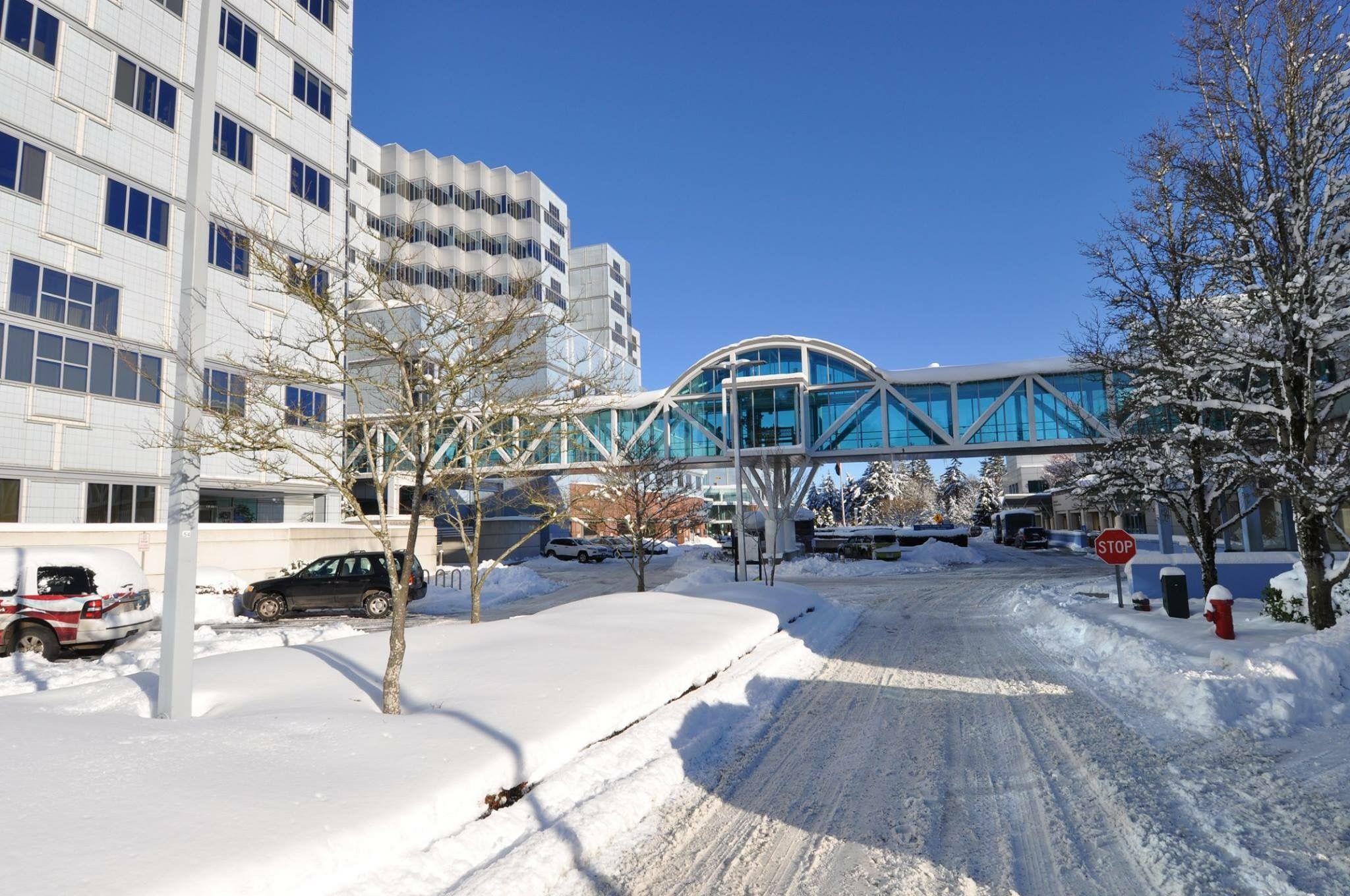 Portland VA Medical Center winter 2017 Oregon, Street