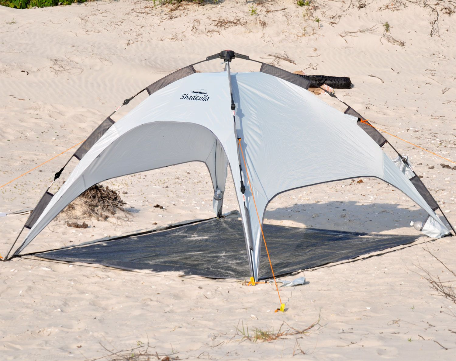 Shadezilla Easy Pop UP Beach Tent - UPF 100 w/ Removable Floor : easy pop up beach tent - memphite.com