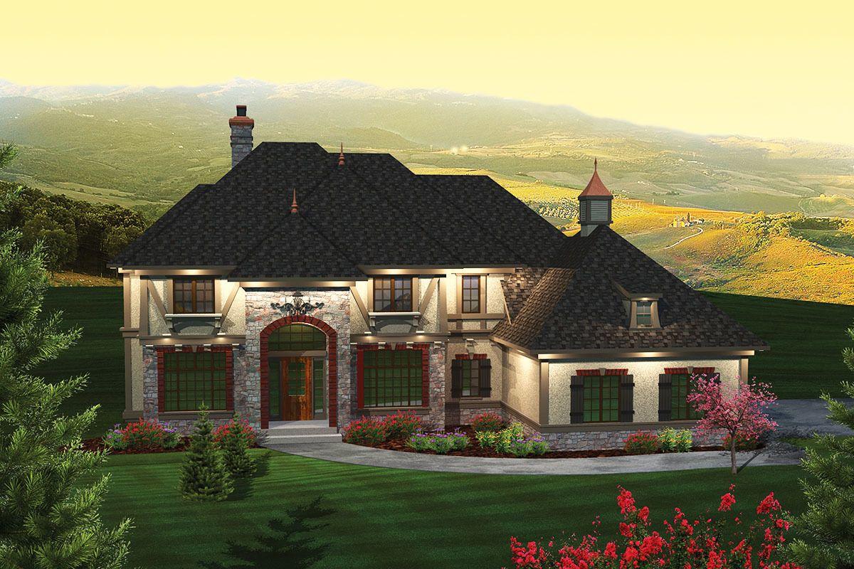 Plan 89855ah Charming Luxury Home Plan Luxury House Plans House Plans House Plans And More