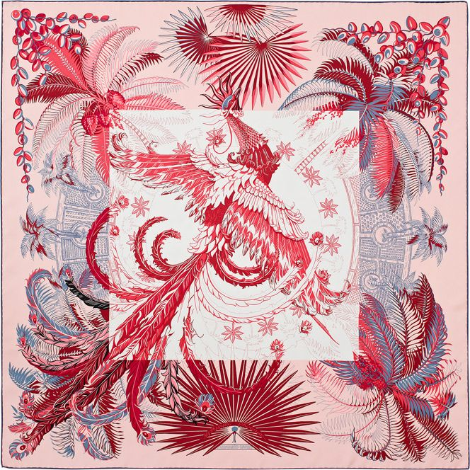 Hermes silk twill scarf, hand-rolled, 36 | Scarves ...