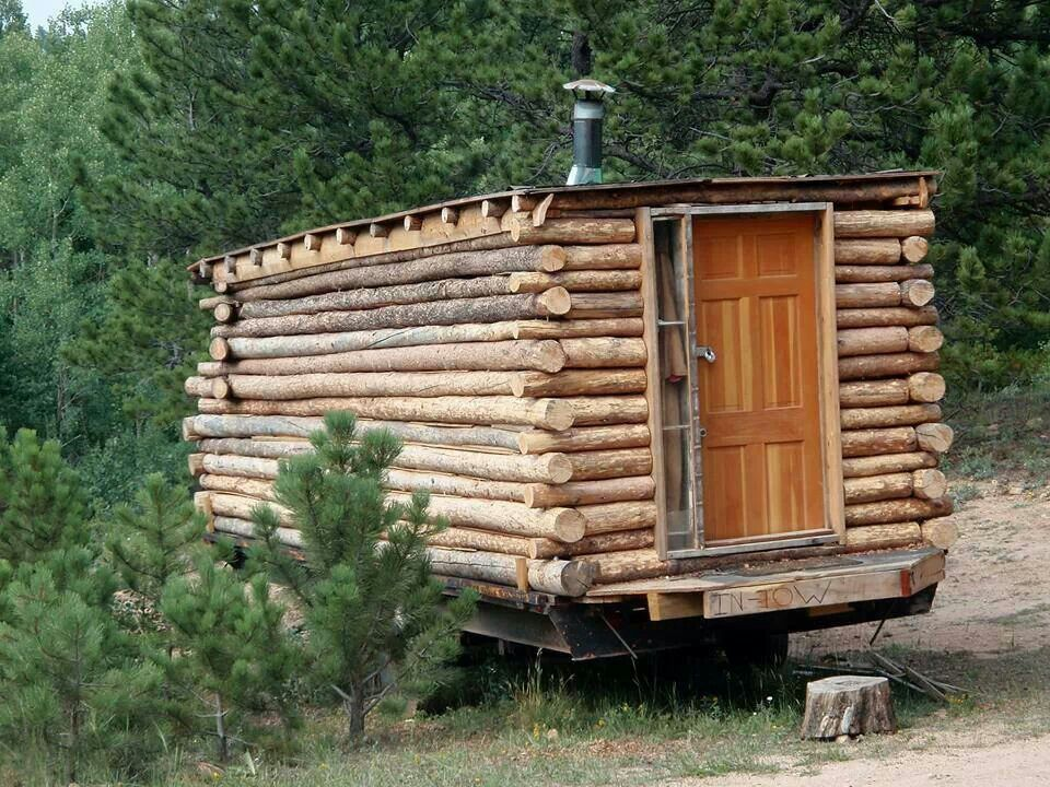 Log Cabin Trailer Flat Roof Spring Bluff Cabin Ideas