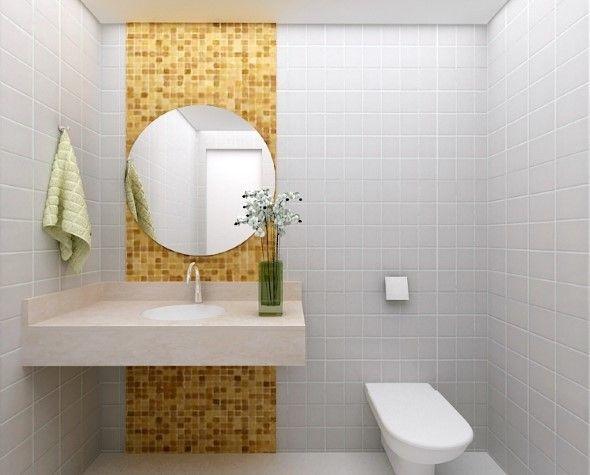 Lavabos pequenos e modernos 590 475 ideias - Fotos lavabos modernos ...