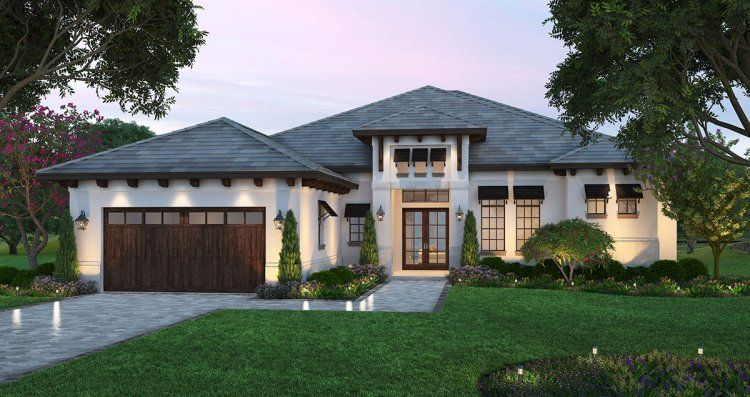 Plan No 770552 House Plans By Westhomeplanners Com Mediterranean Style House Plans Florida House Plans Mediterranean House Plans