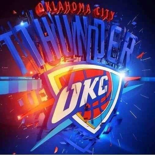 Die besten 25+ Thunder team Ideen auf Pinterest   Oklahoma city thunder, Oklahoma city ...