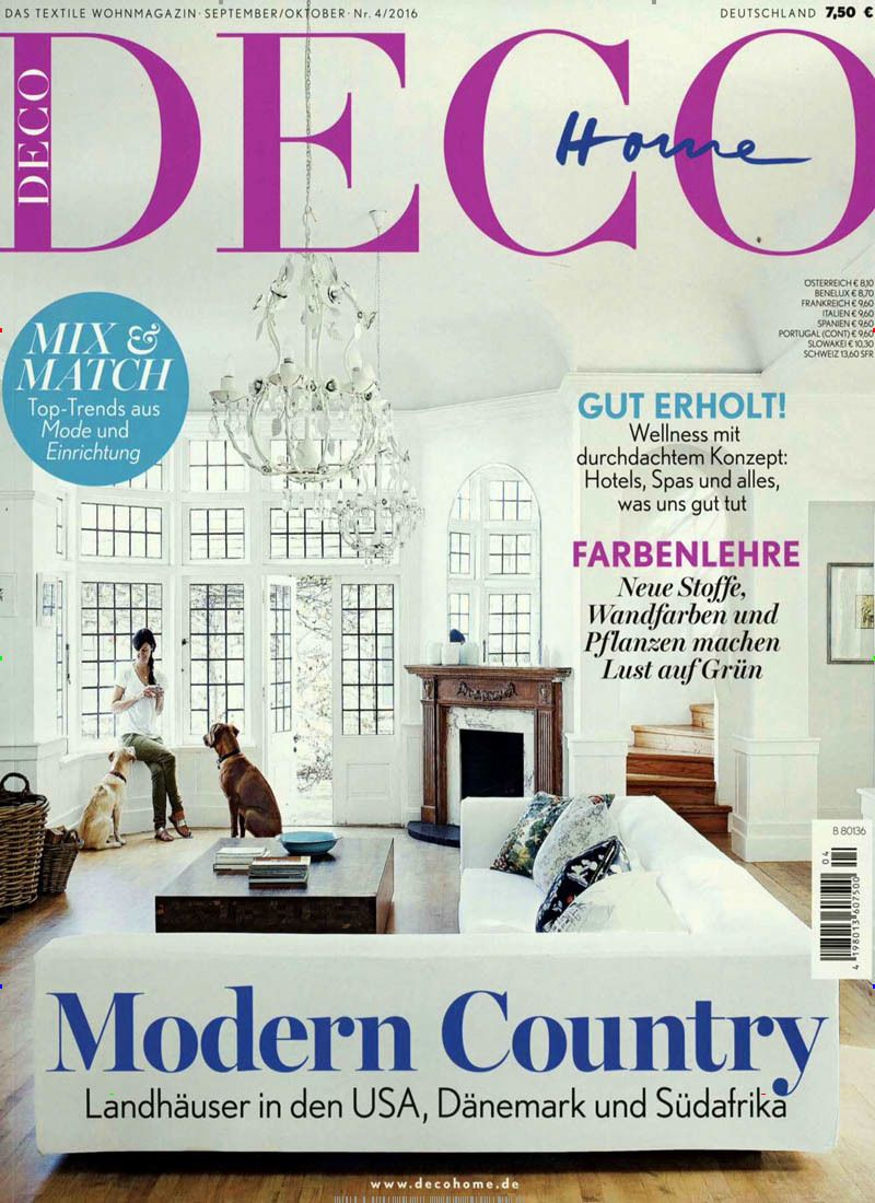 Modern Country. Gefunden in: DECO Home, Nr. 4/2016