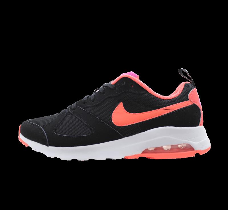 nike 6 anneaux chaussures - Nike Air Max Muse Black Bright Mango - 654729-061 - Sneaker ...