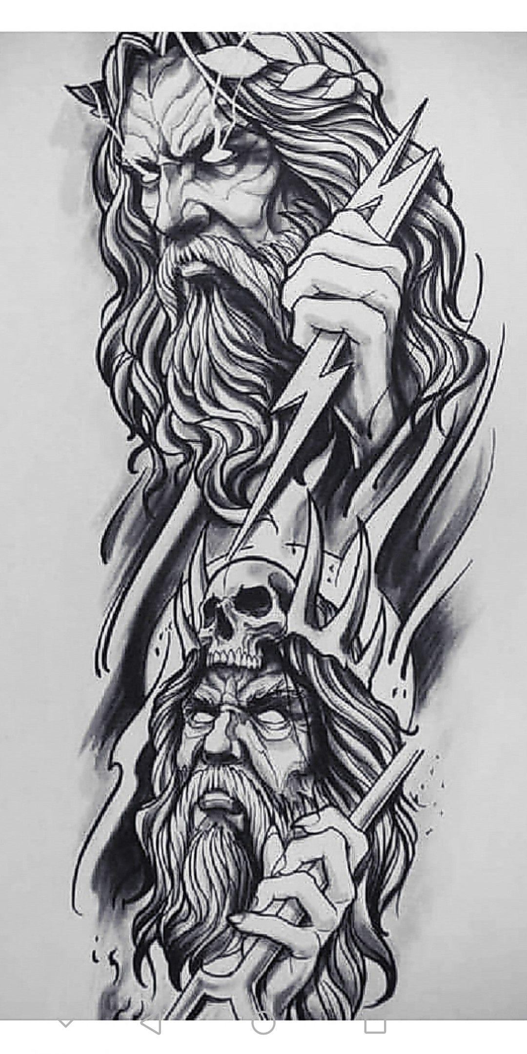 Pin De Nadeali Em Tattoo Tatuagens De Mitologia Tatuagem Da Mitologia Grega Tatuagem Deusa Grega